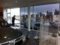 Total Tinting - Evans Halshaw Showroom